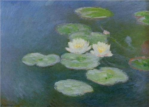 Water Lilies, Evening Effect 1899