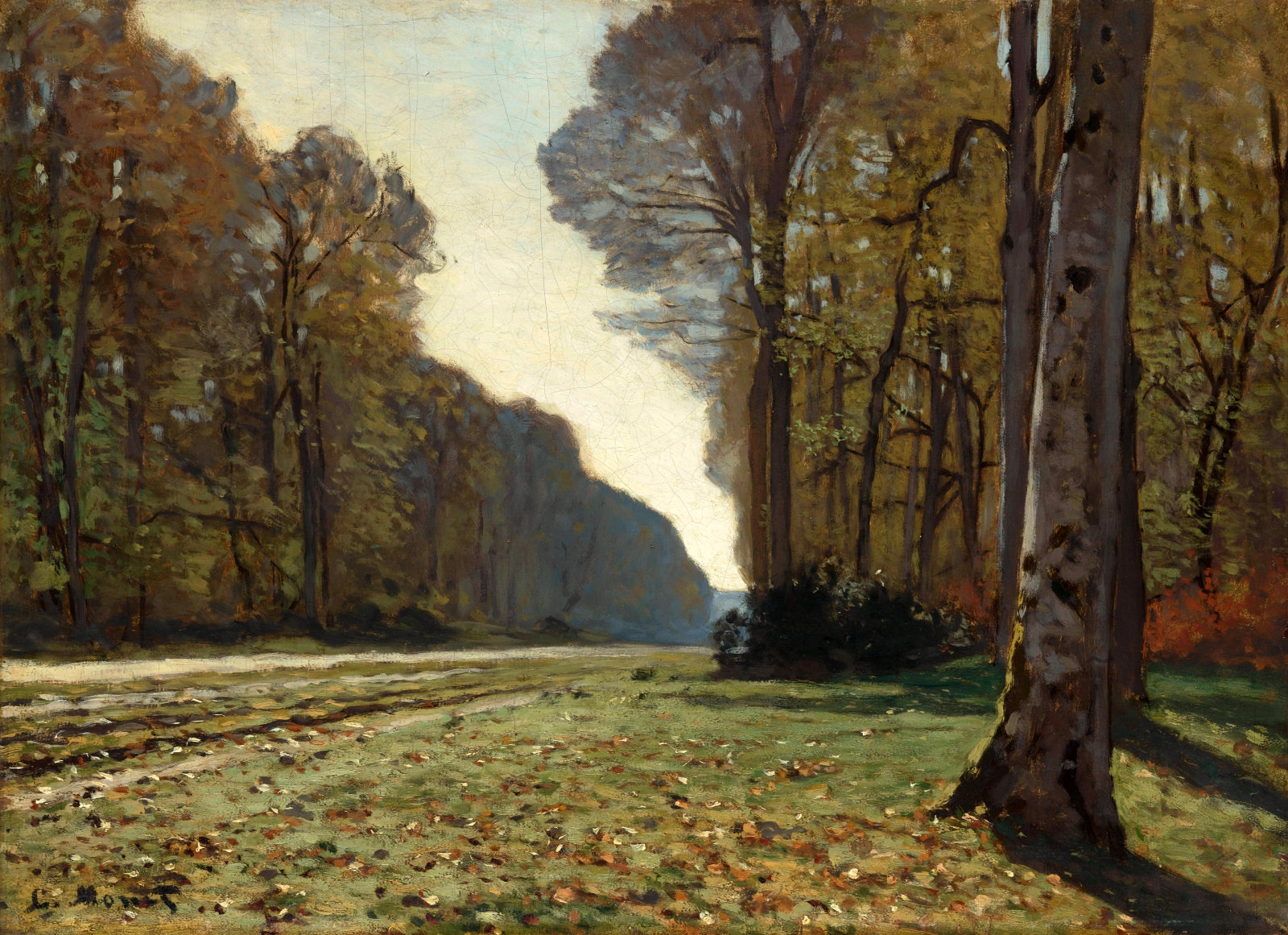 The Pave de Chailly 1865