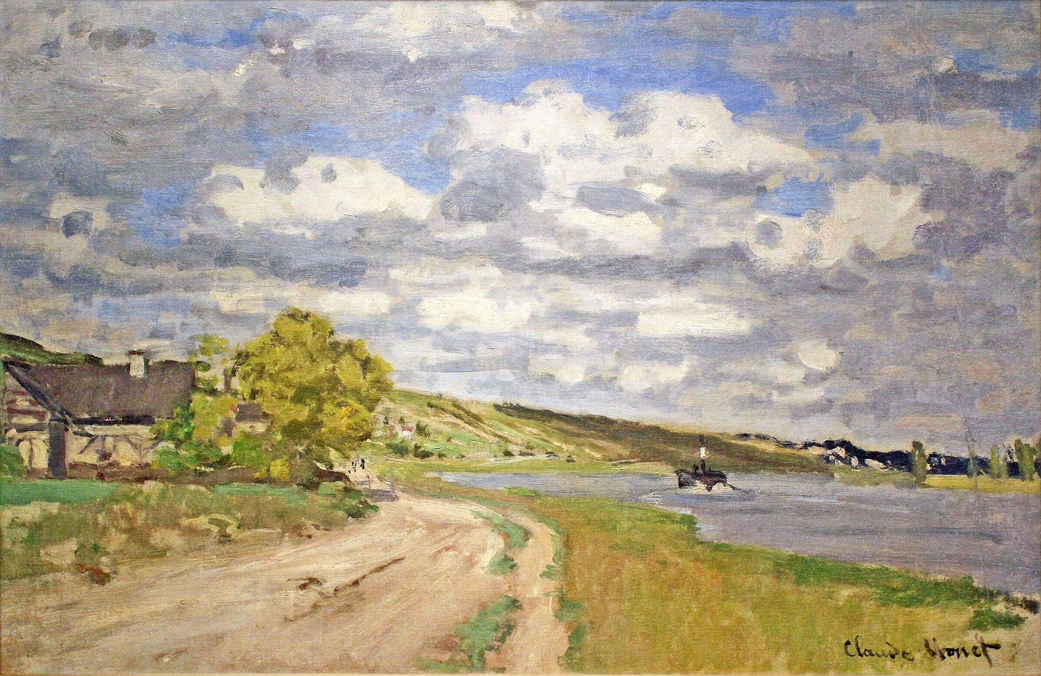 The Estuary of the Siene 1868
