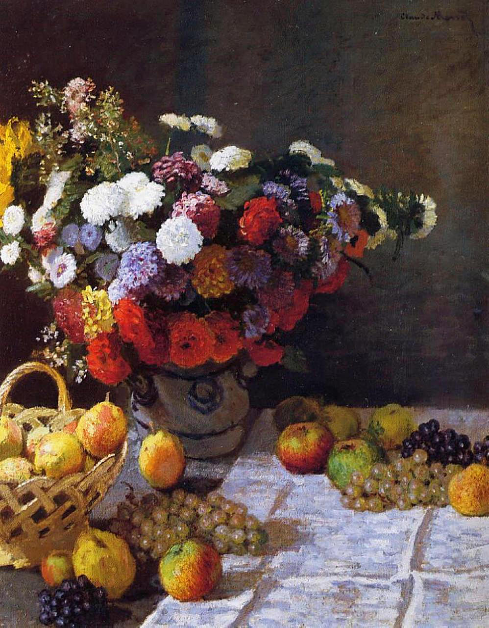 Flowers and Fruit 1869