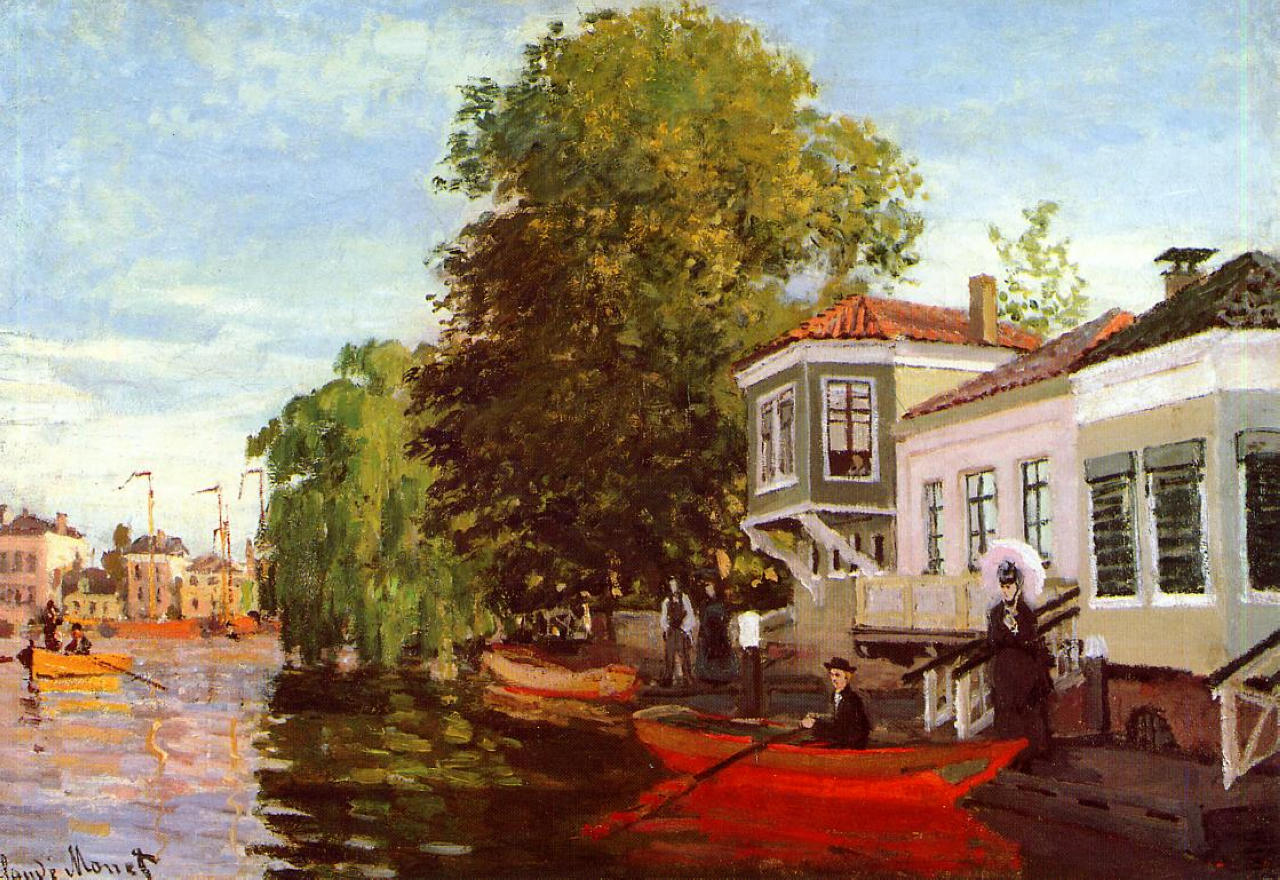 Zaan at Zaandam 1871