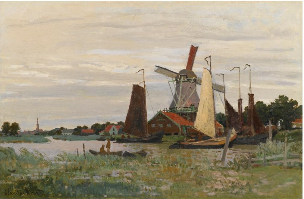 Windmill at Zaandam 1871