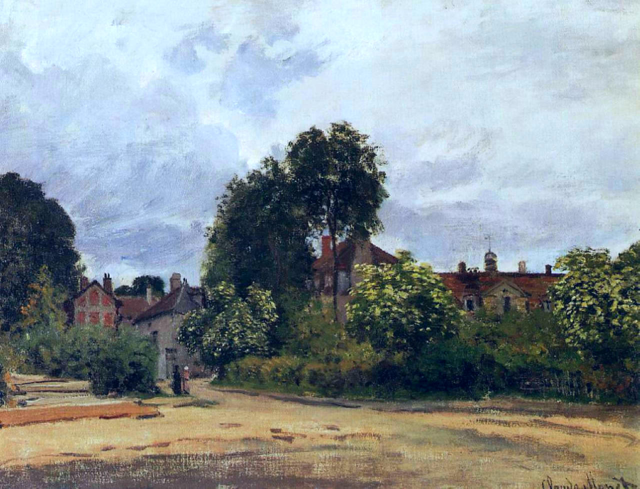 Argenteuil, the Hospice 1872