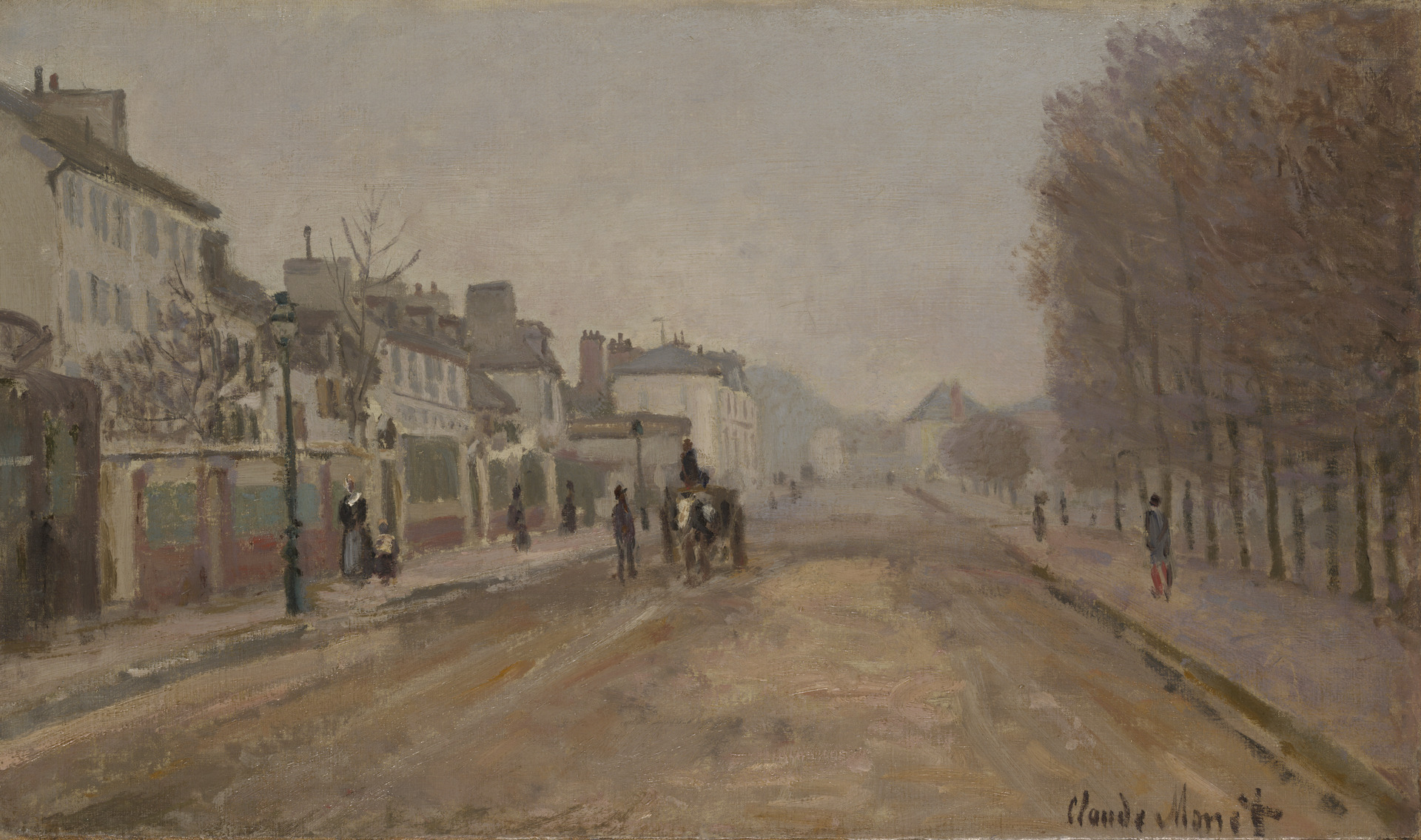The Boulevard Heloise in Argenteuil 1872