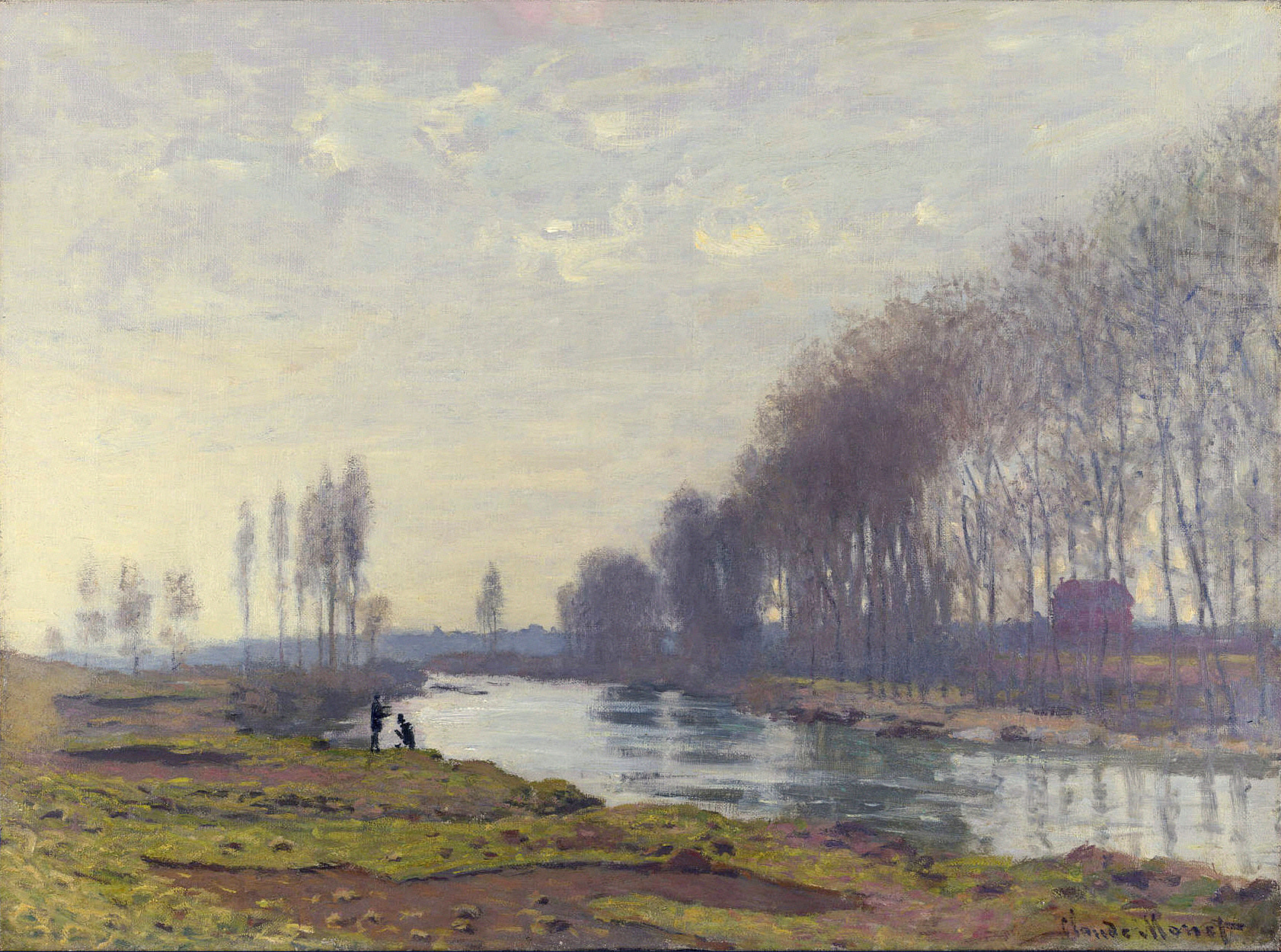 The Small Arm of the Seine at Argenteuil 1872