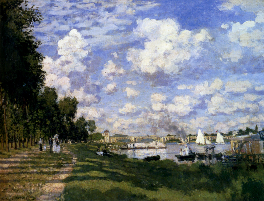 The Basin at Argenteuil 1872