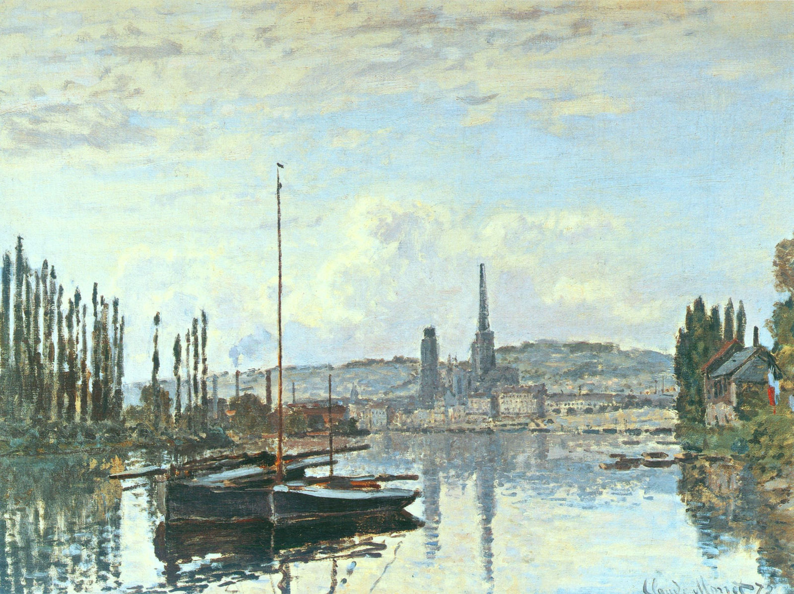 View of Rouen 1872