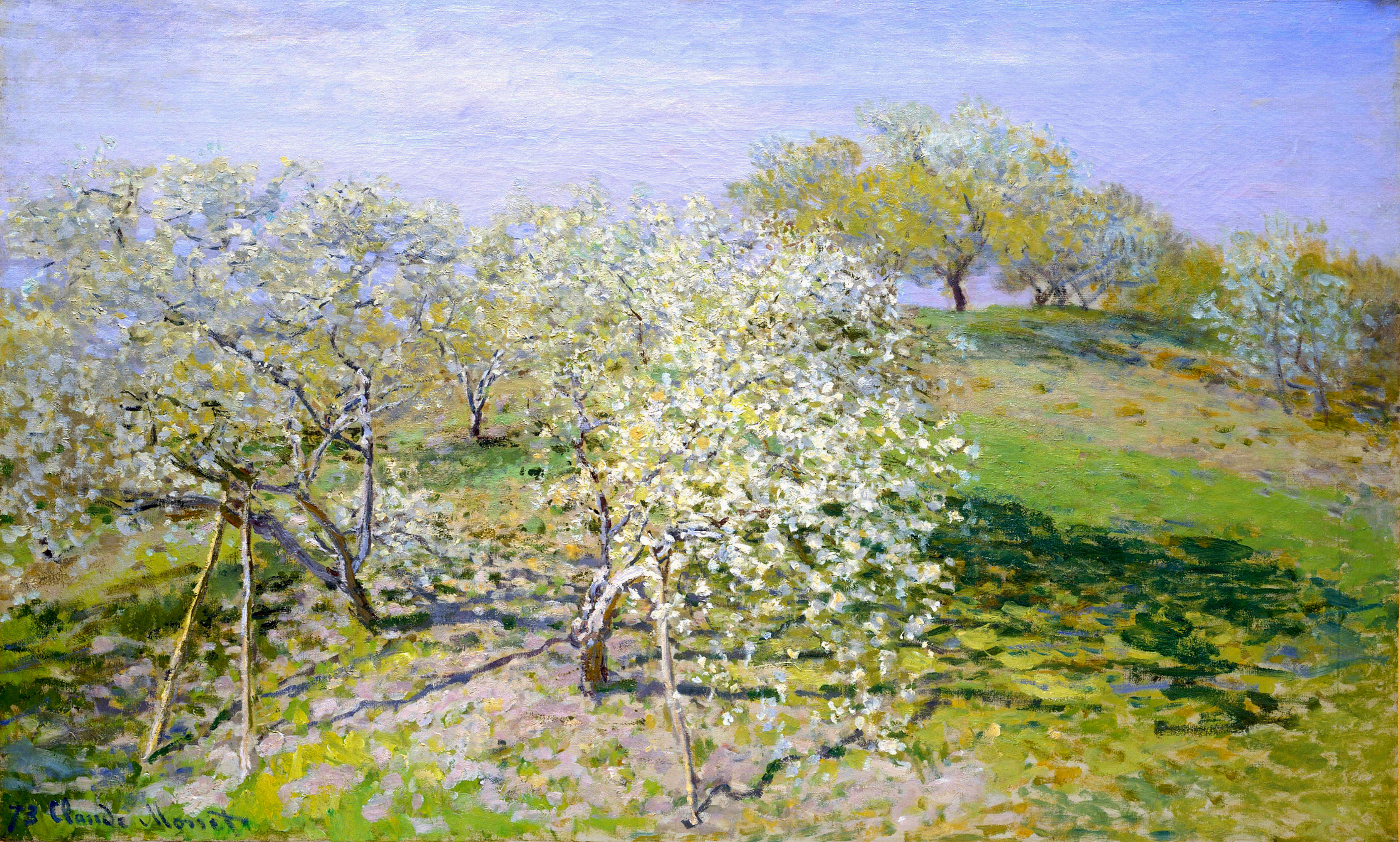 Apple Trees in Bloom 1873