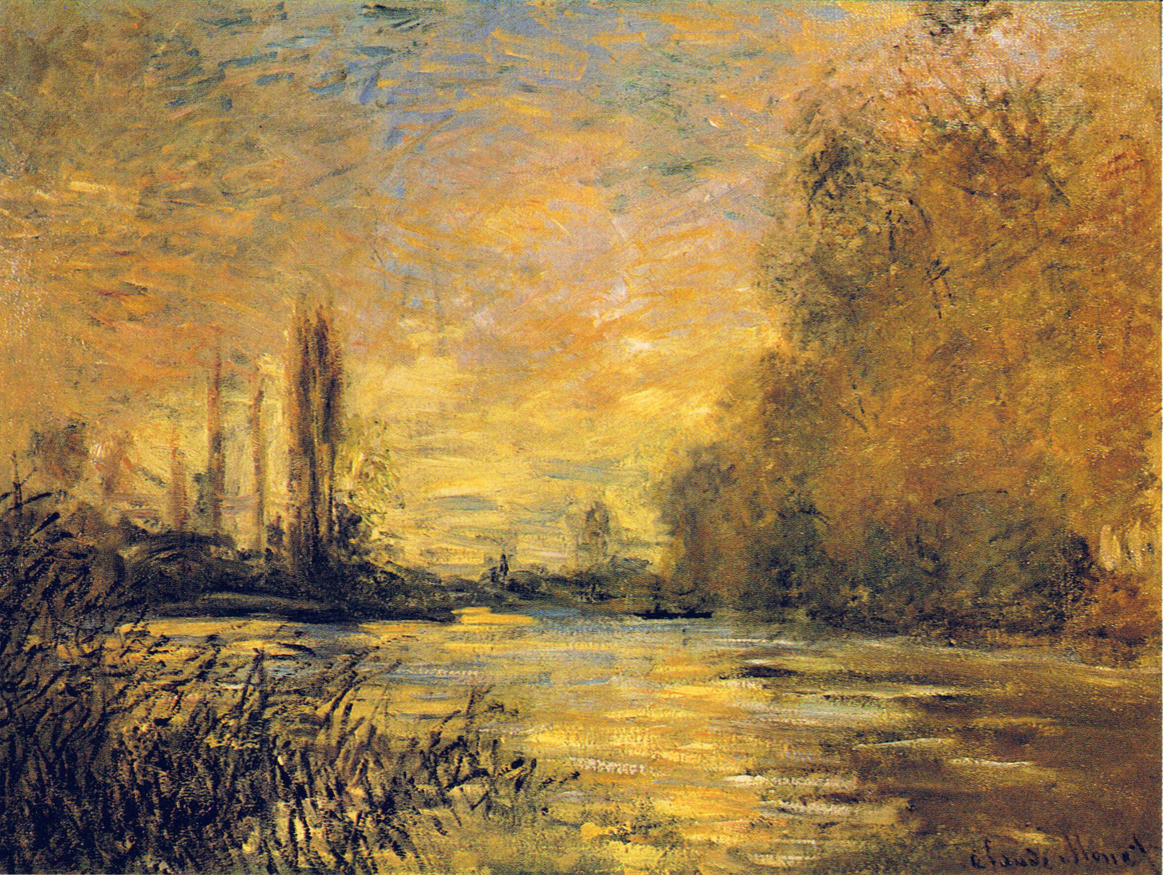 The Small Arm of the Seine at Argenteuil 1876