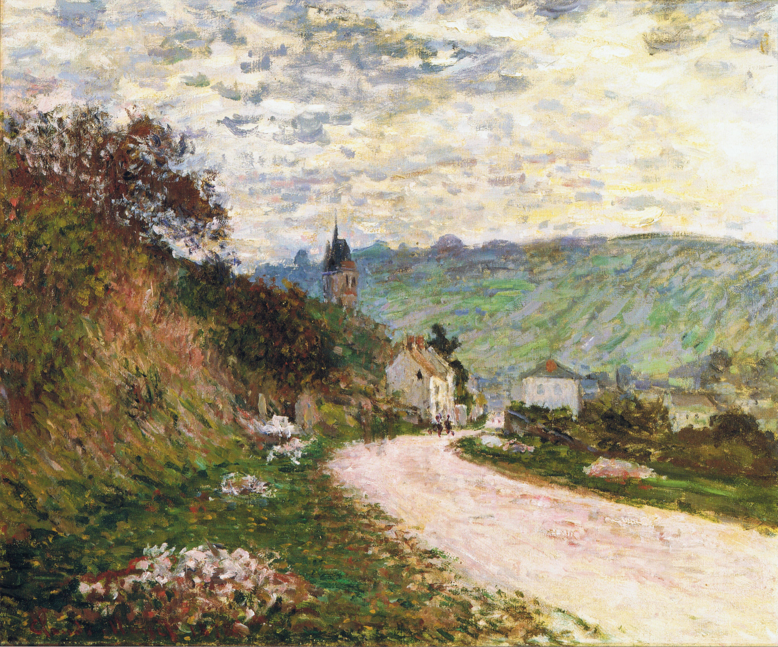 The Route a Vetheuil 1878