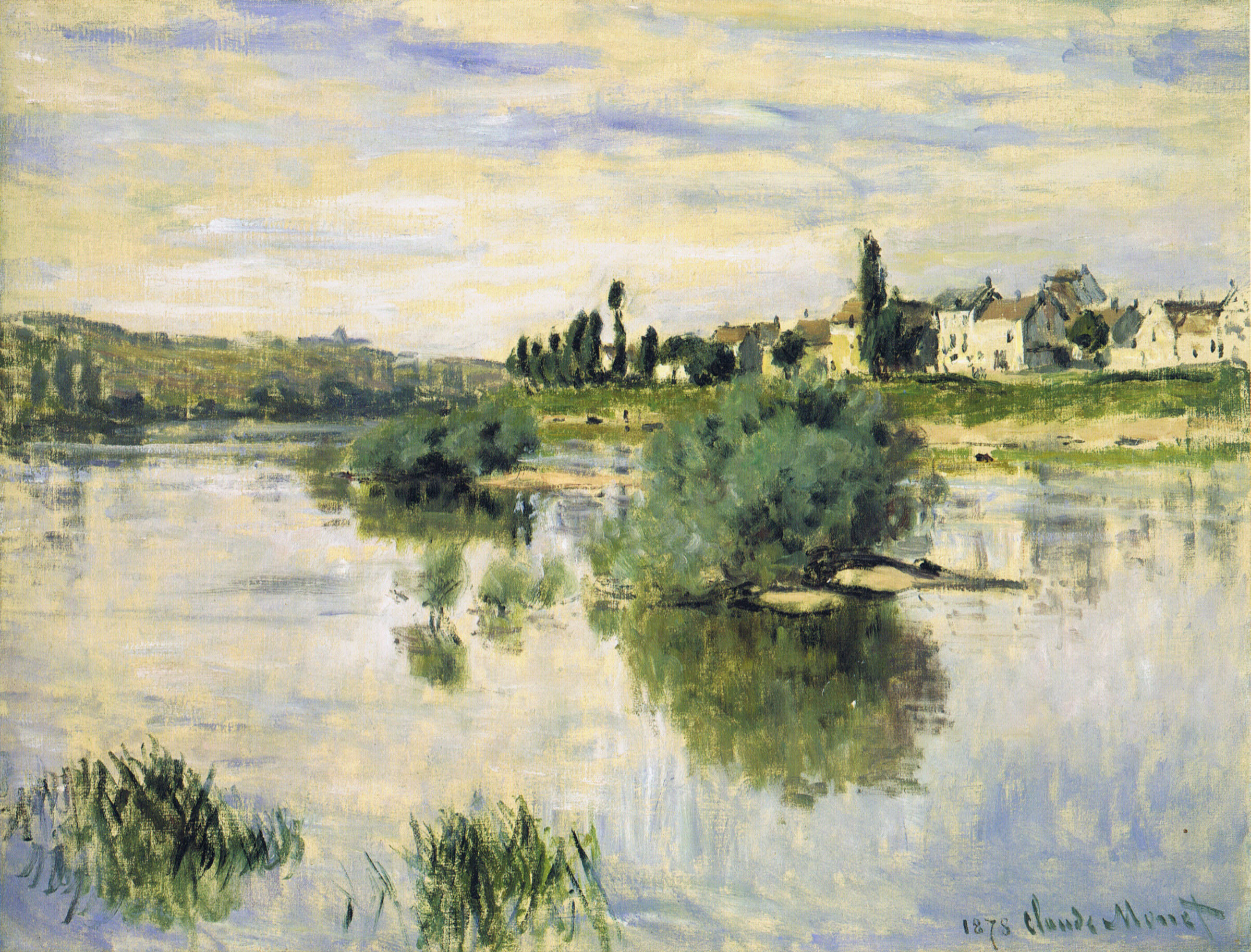 The Seine at Lavacourt 1878