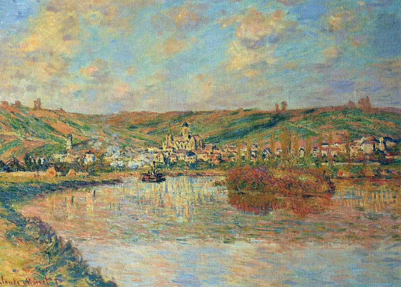 Late Afternoon in Vetheuil 1880