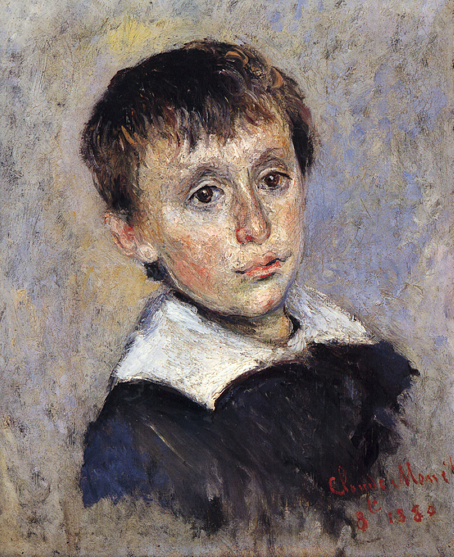 Portrait of Jean Monet 1880