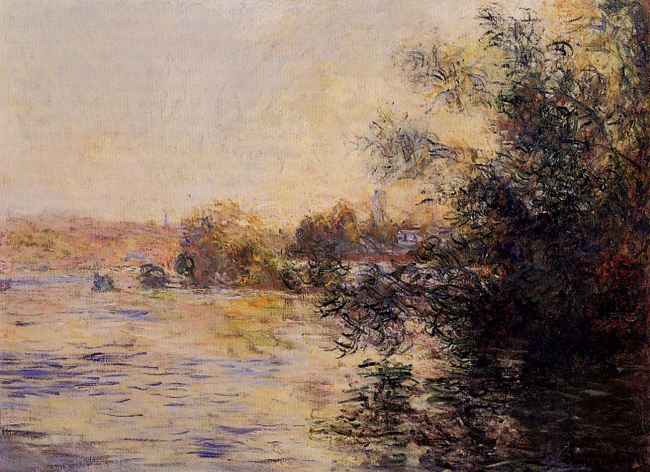 Evening Effect of the Seine 1881