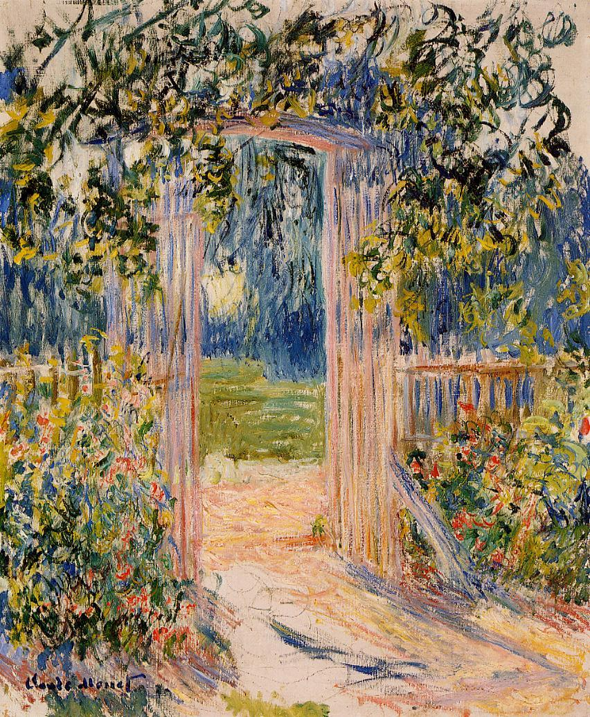 The Garden Gate At Vetheuil · The Garden Gate ...