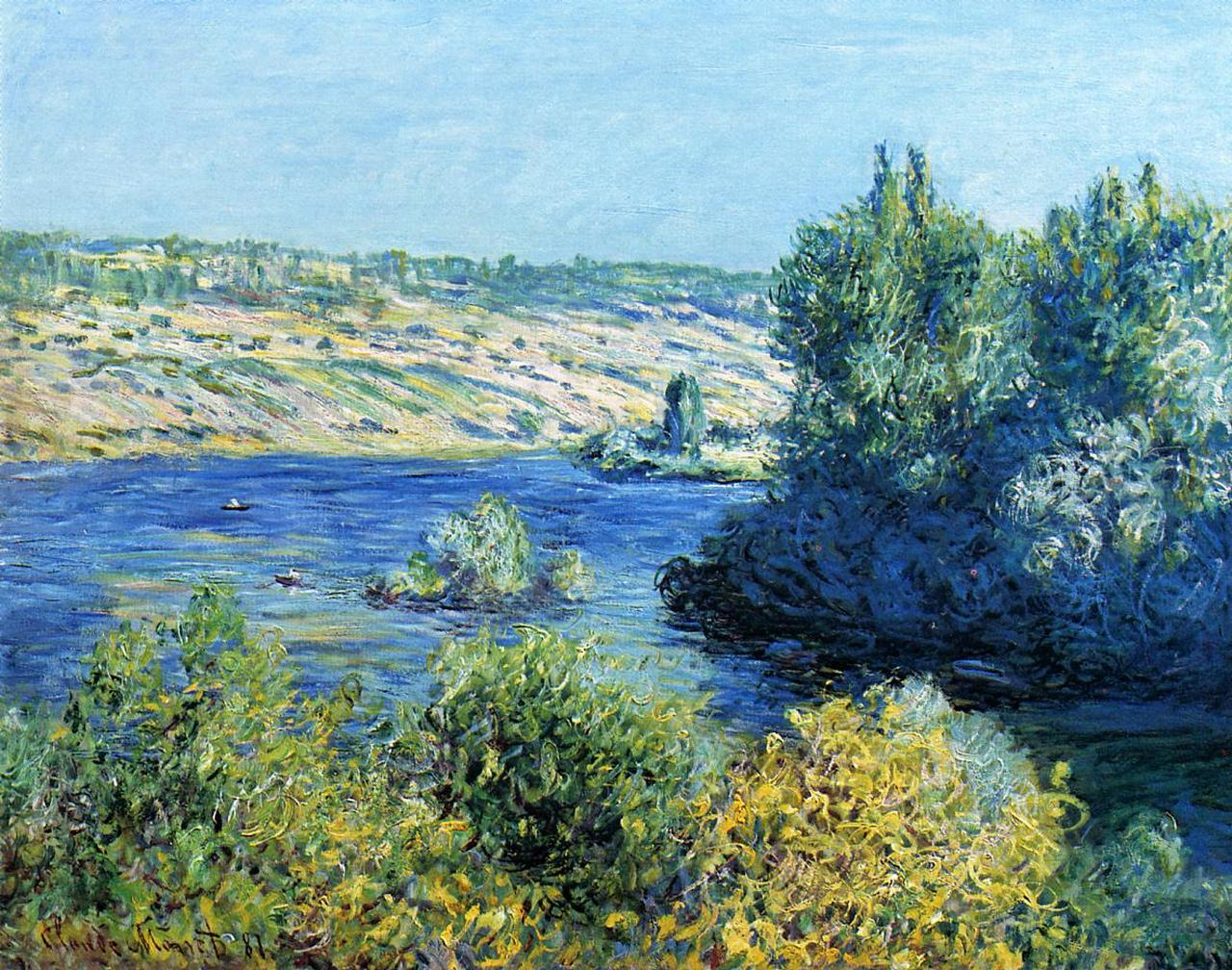 The Seine at Vetheuil 1881