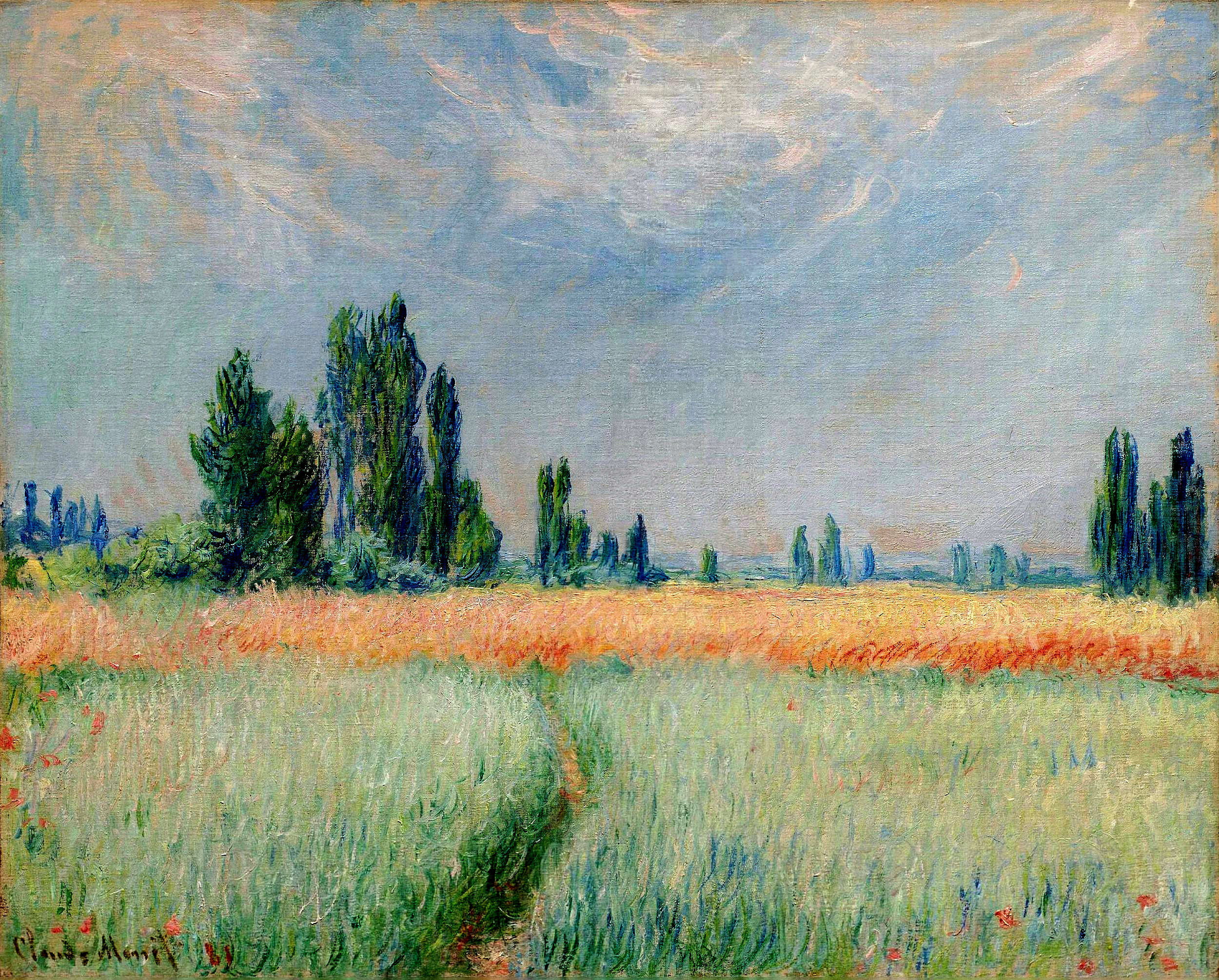The Wheat Field 1881