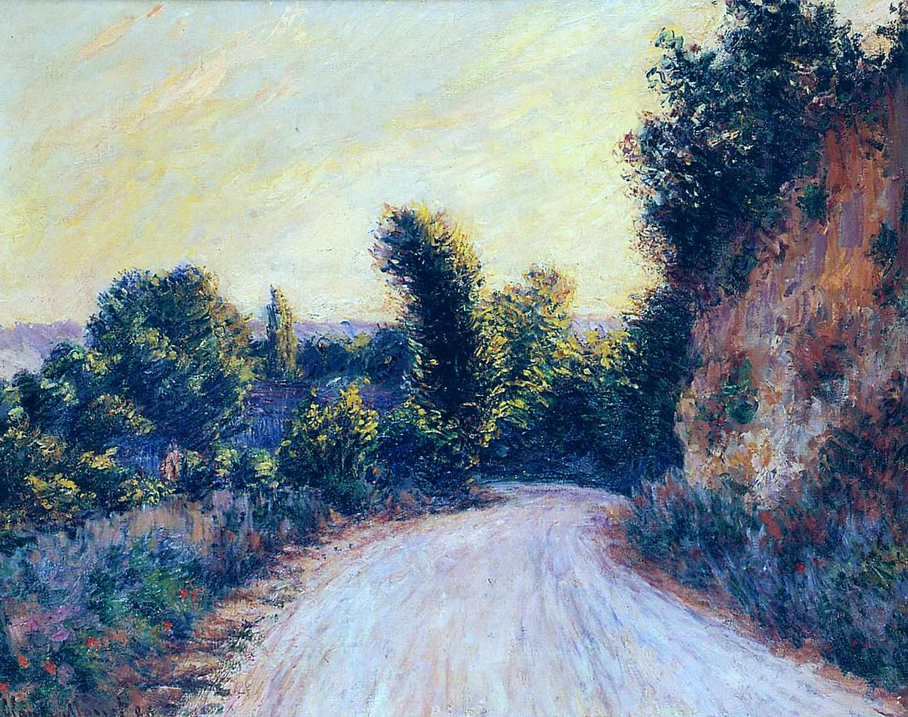 Road near Giverny 1885