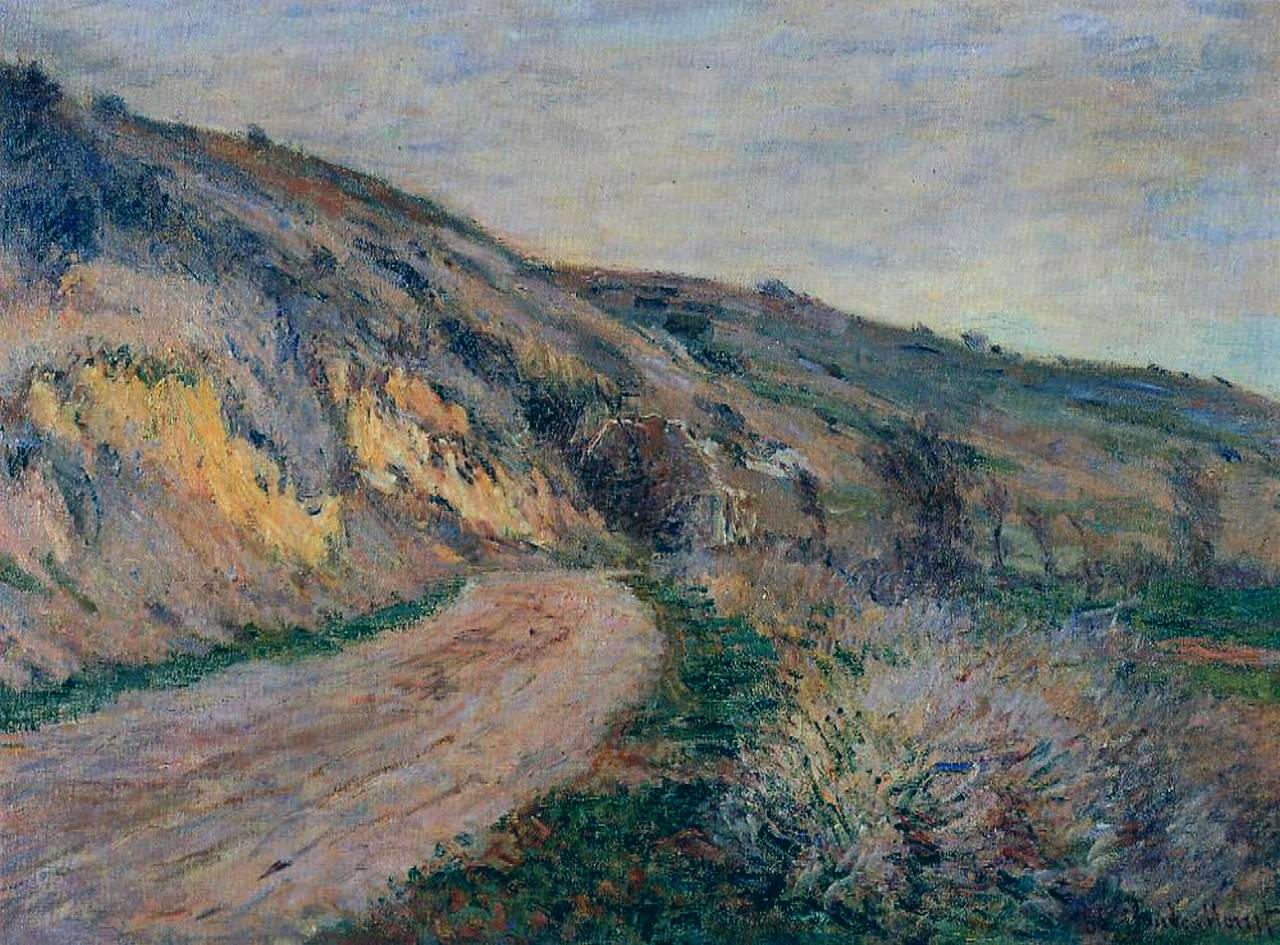 The Road to Giverny 1885