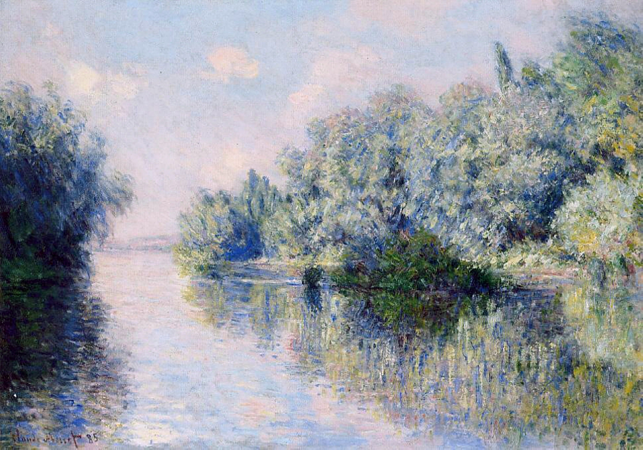 The Seine near Giverny 1885