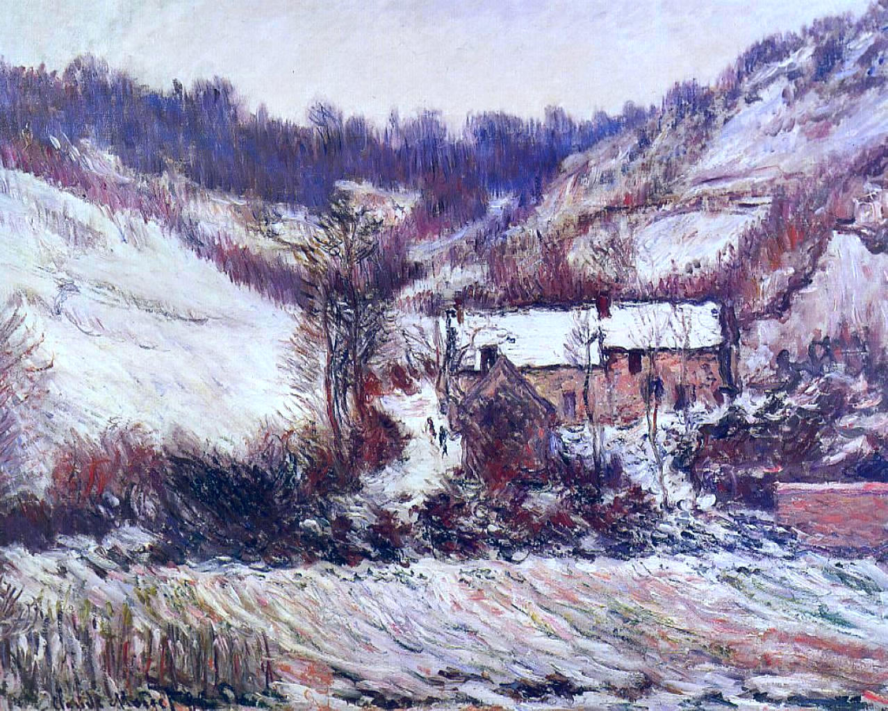 Snow Effect at Falaise 1886