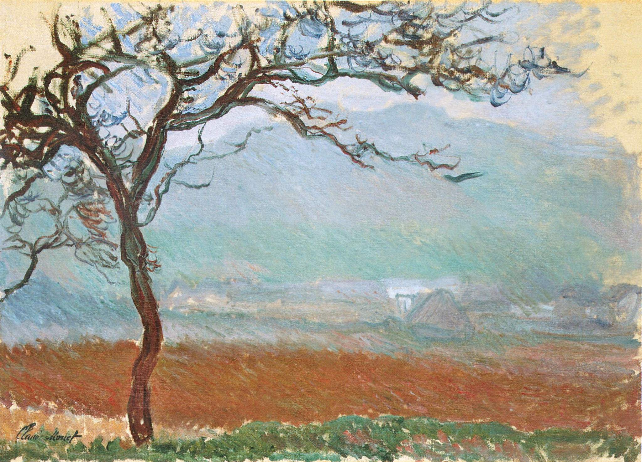 Landscape at Giverny 1887