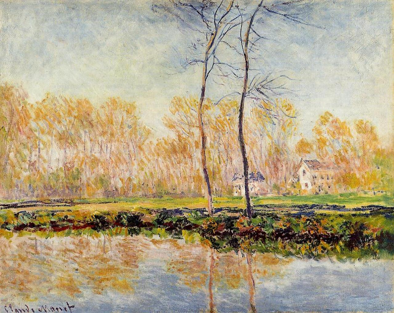 The Banks of the River Epte at Giverny 1887