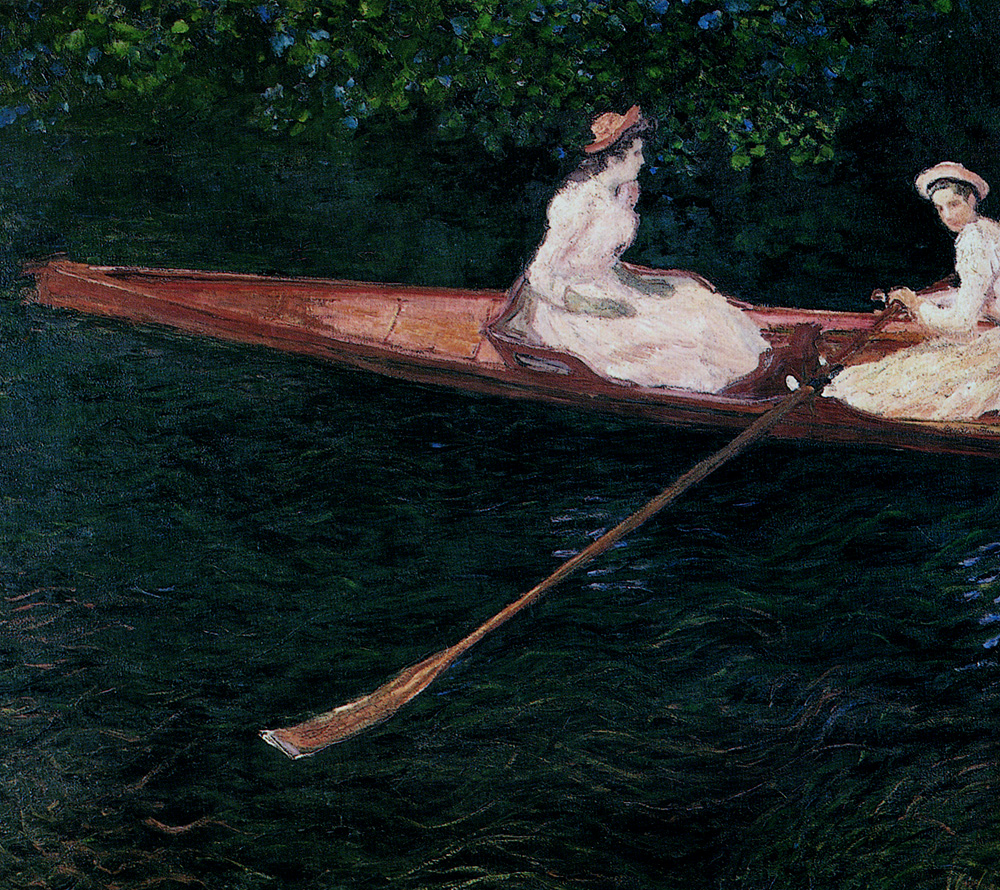 The Pink Skiff, Boating on the Ept 1887