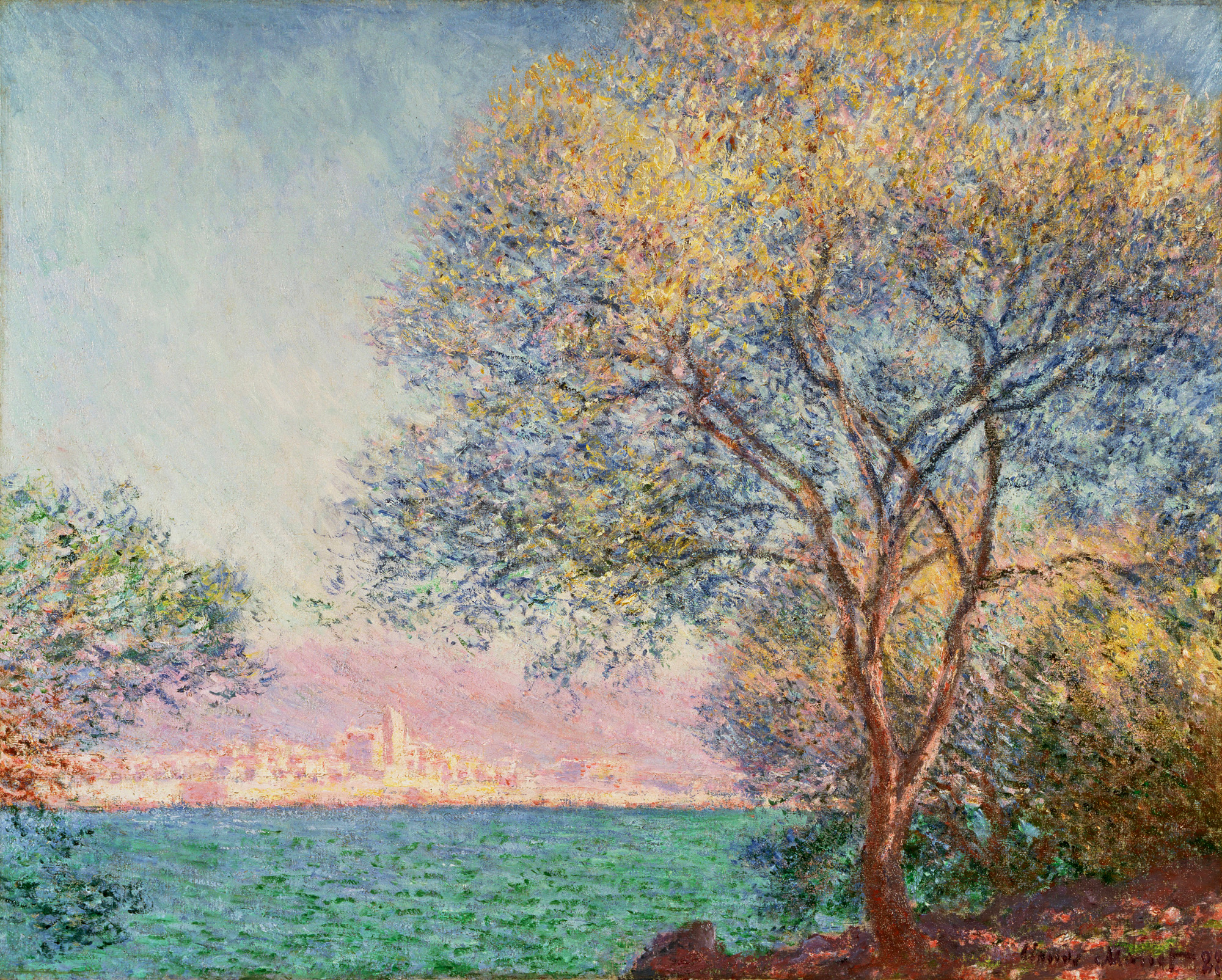 Antibes in the Morning 1888
