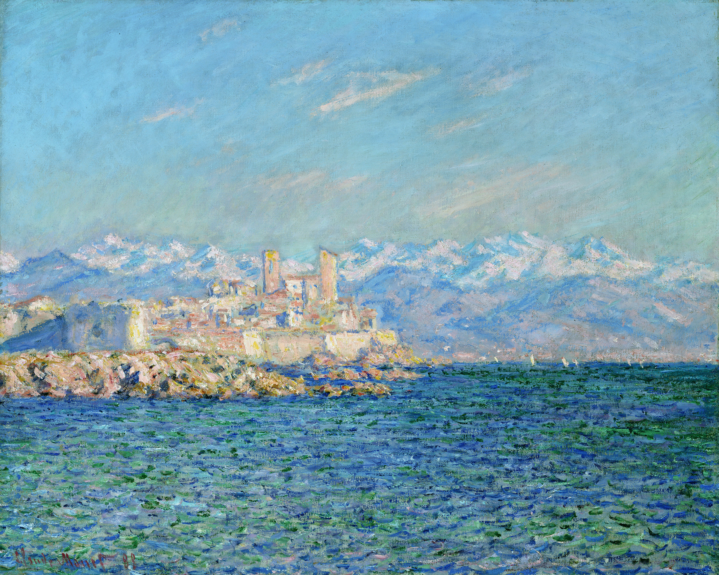 Antibes, Afternoon Effect 1888