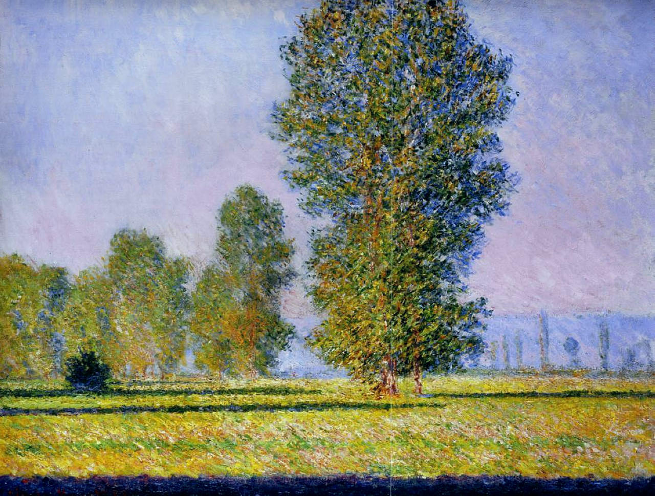 Meadow at Limetz 1888