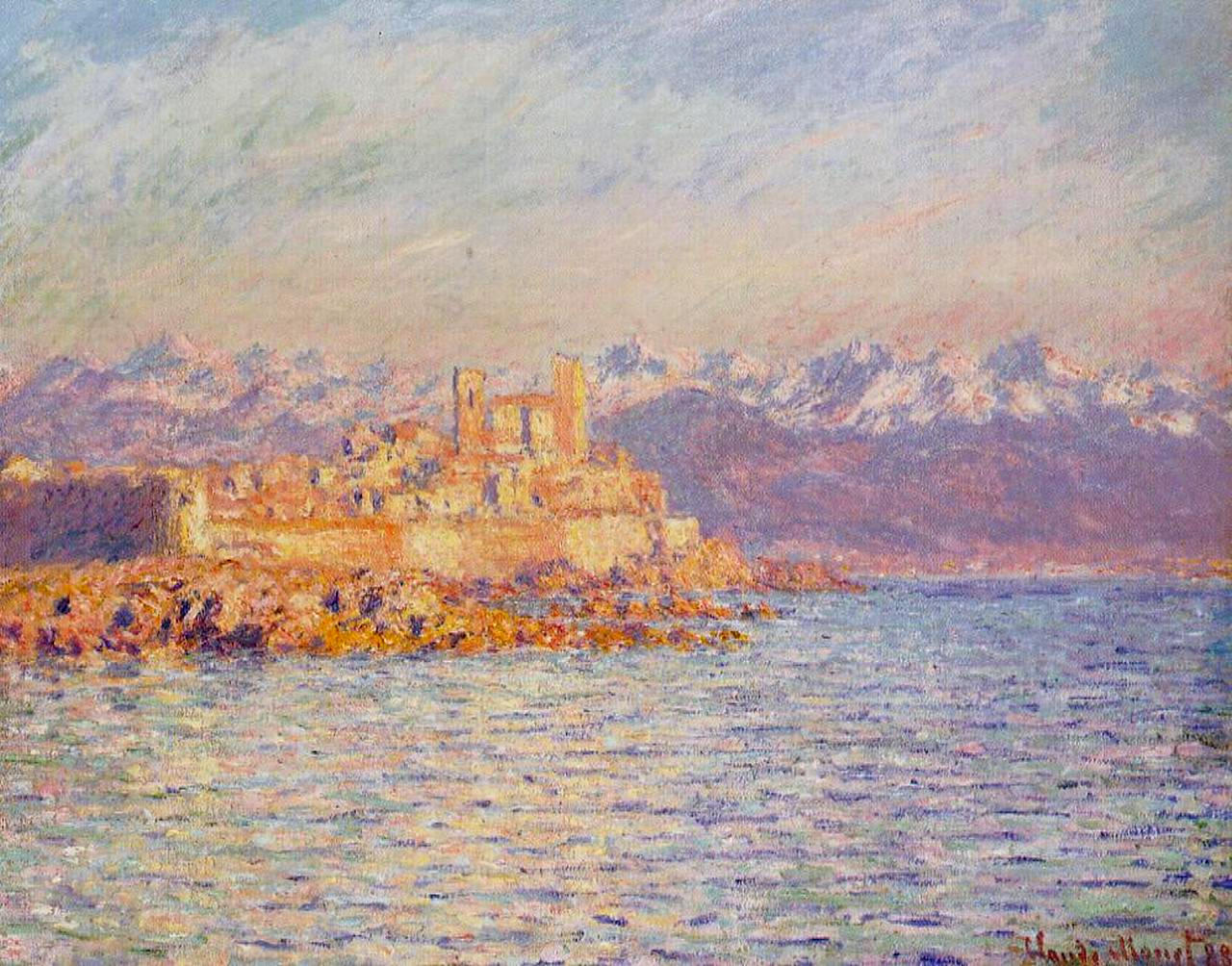 The Bay of Antibes 1888