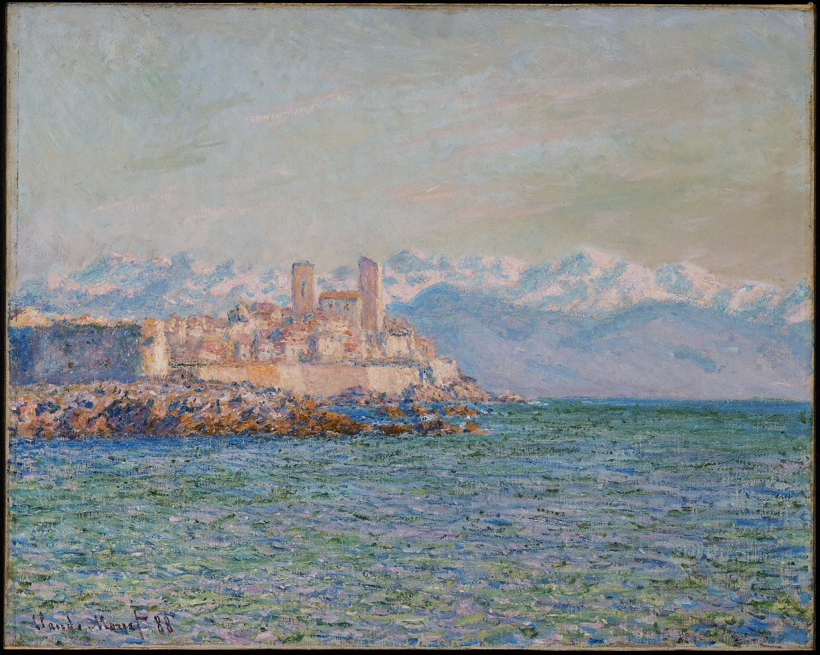 The Castle in Antibes 1888
