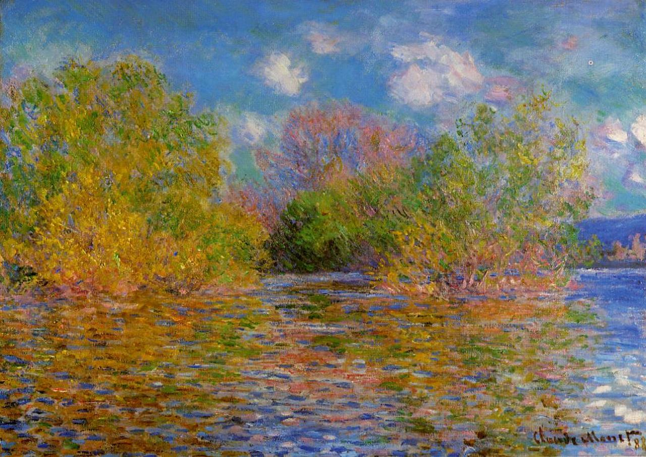 The Seine near Giverny 1888