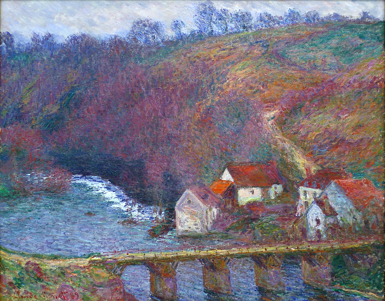The Grande Creuse by the Bridge at Vervy 1889