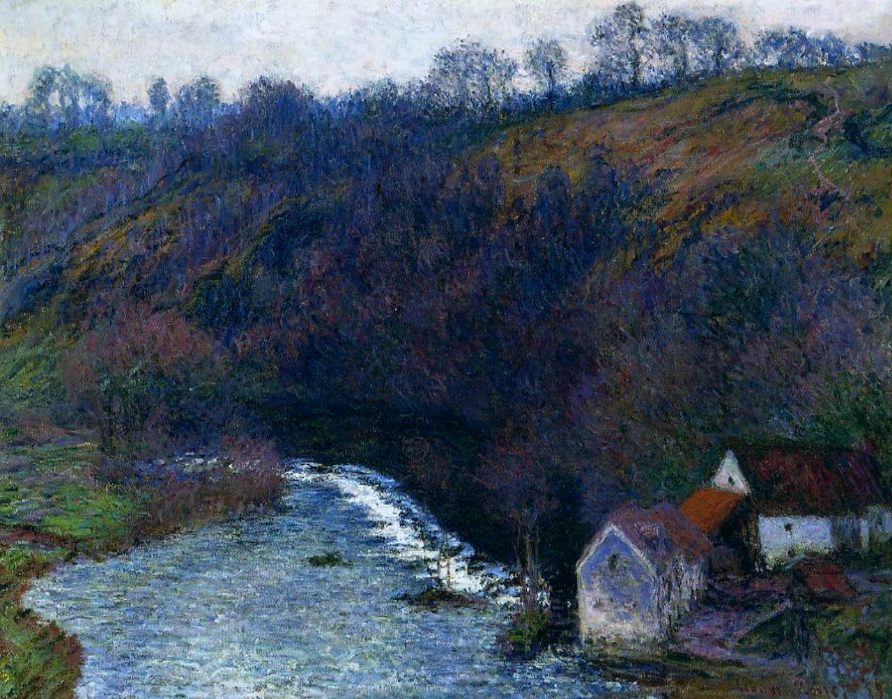 The Mill at Vervy 1889
