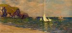 Sailboats at Sea, Pourville