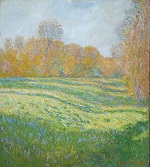Meadow at Giverny 1886