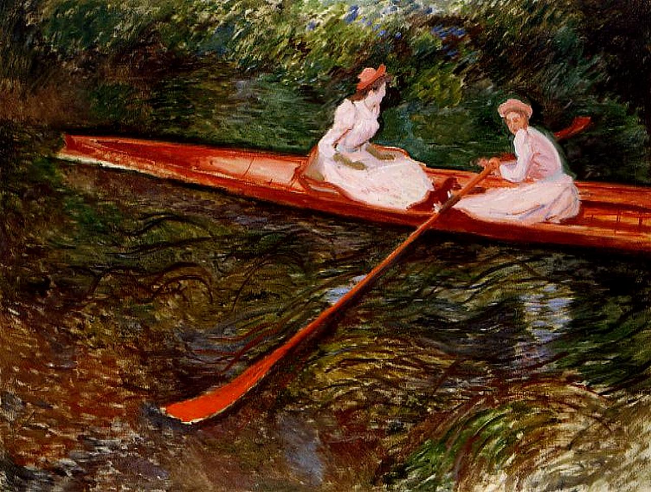 The Pink Skiff 1890