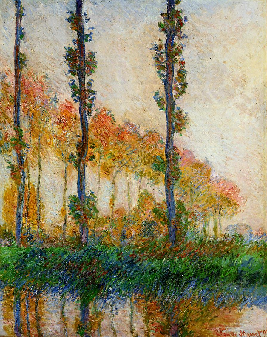 The Three Trees, Autumn 1891