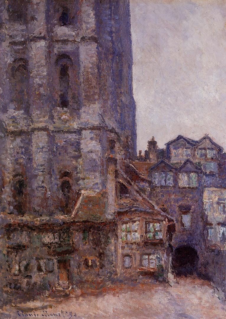 The Cour d'Albane, Grey Weather 1892