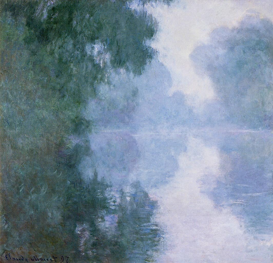 Morning on the Seine near Giverny, the Fog 1893