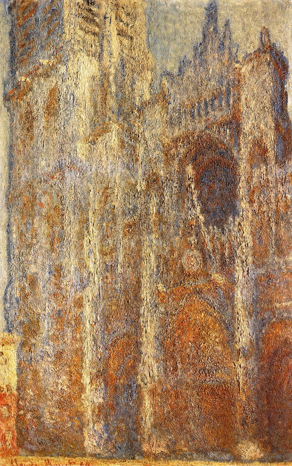 Rouen Cathedral at Noon 1894