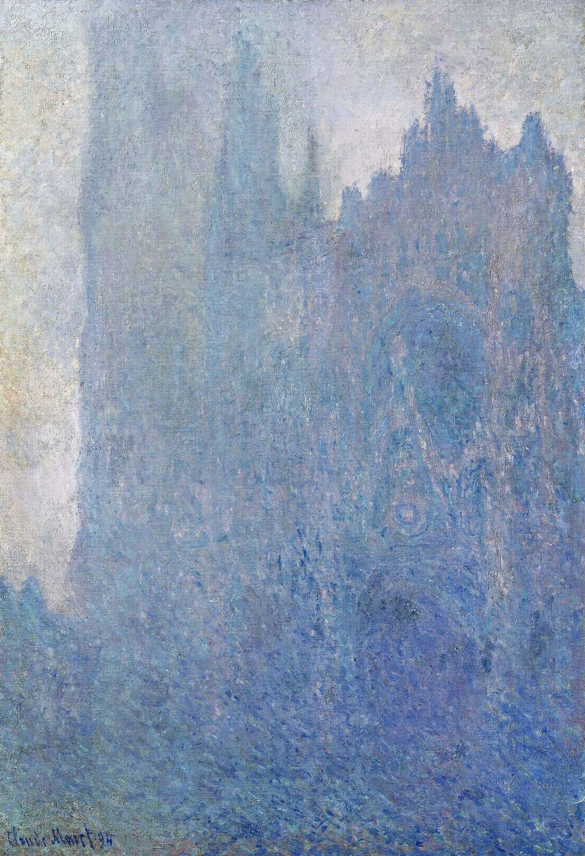 Rouen Cathedral in the Fog 1894