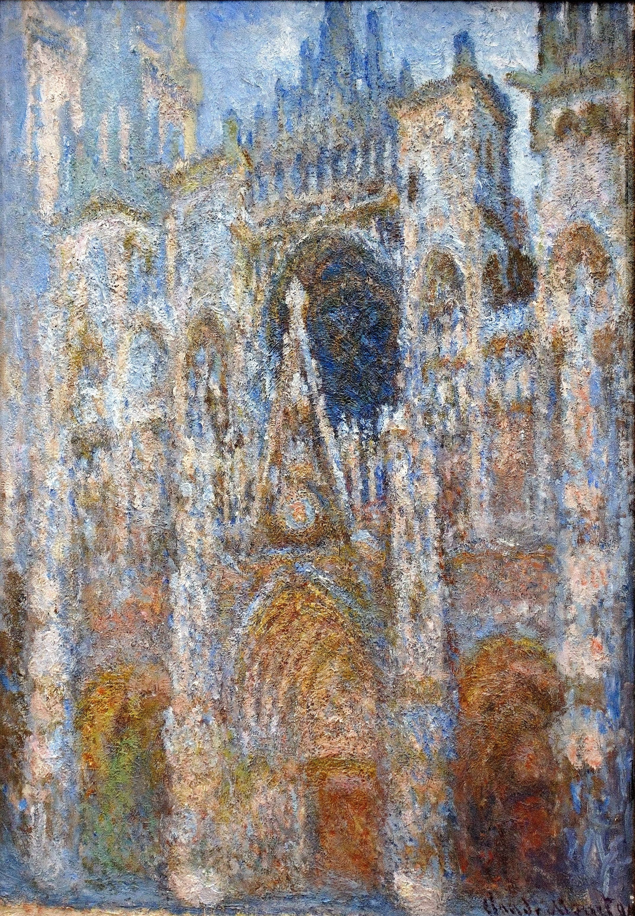 Rouen Cathedral, Magic in Blue 1894