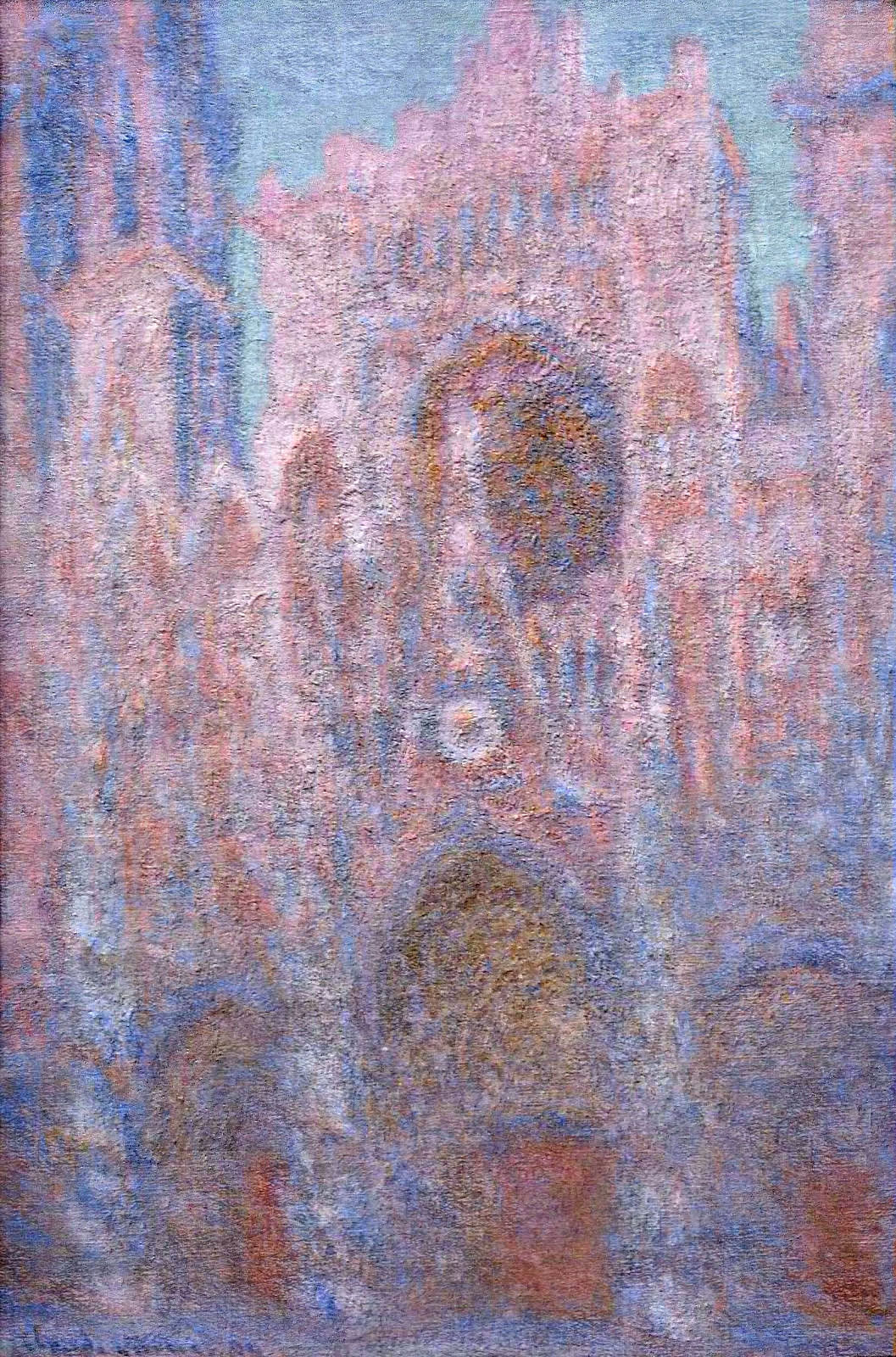 Rouen Cathedral, Symphony in Grey and Rose 1894