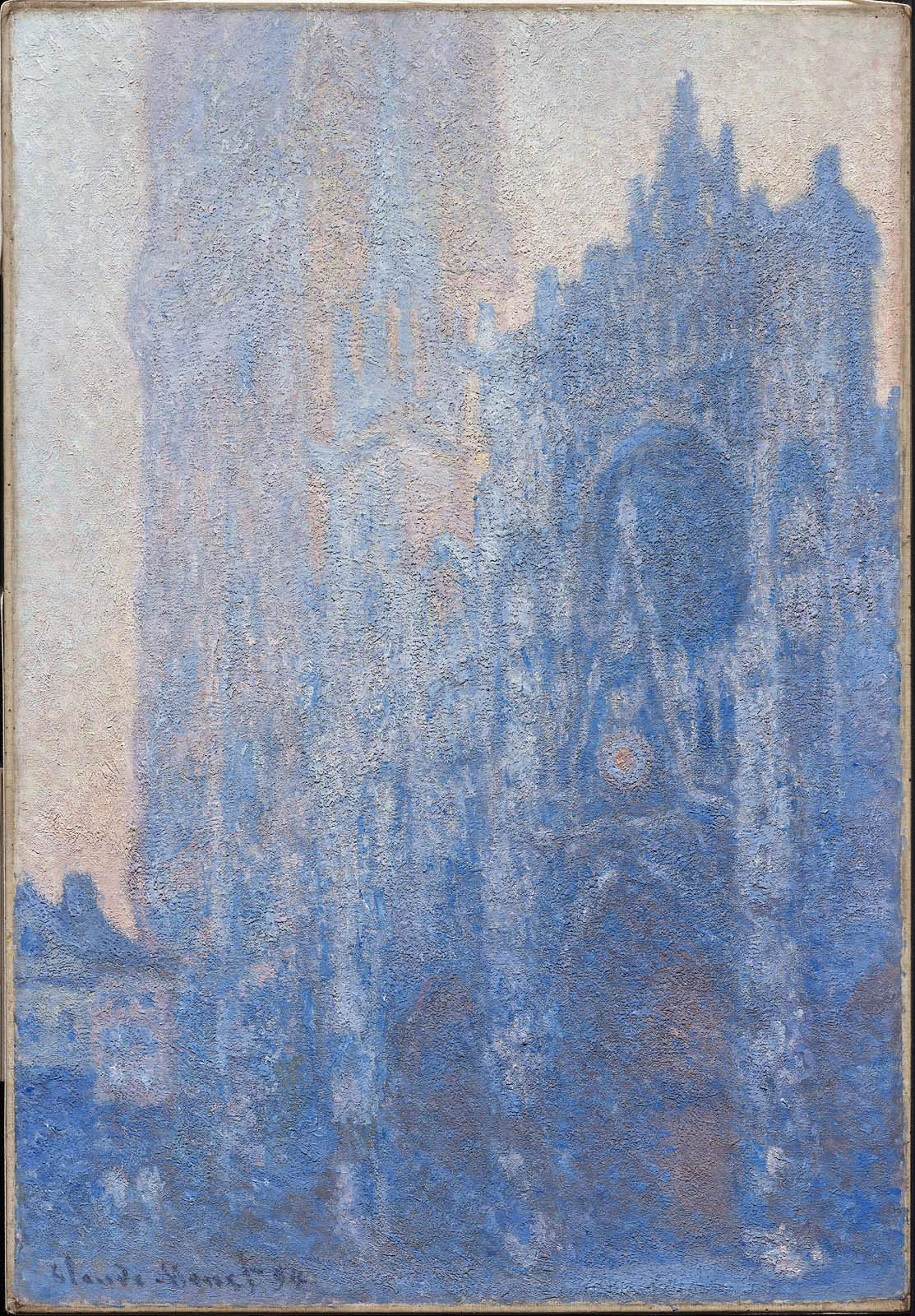 Rouen Cathedral Façade and Tour d'Albane, Morning Effect 1894