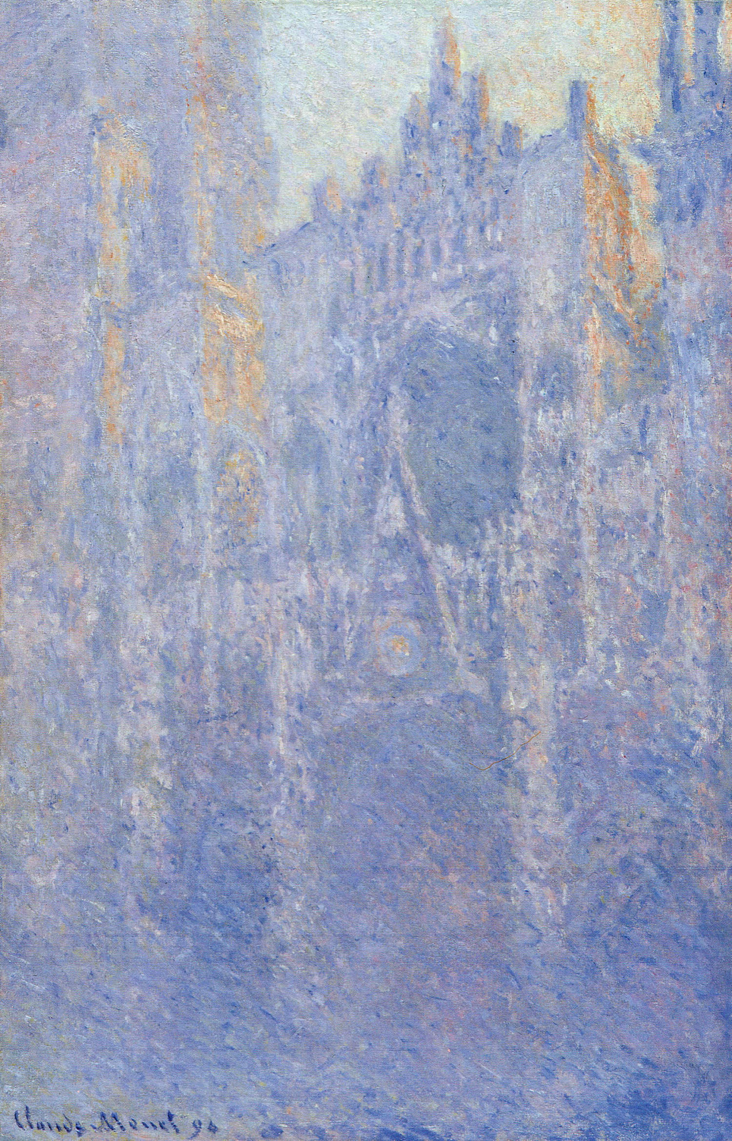 Rouen Cathedral, the Portal, Morning Fog 1894