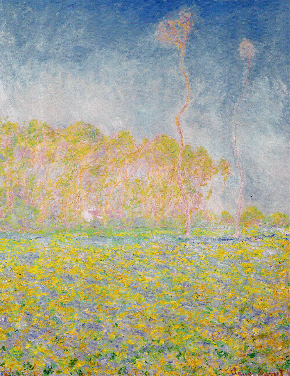 Meadow at Giverny 1894