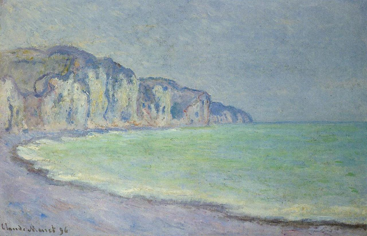 Cliff at Pourville 1896